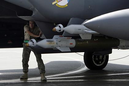 Военные коалиции США разбомбили свой склад оружия в Сирии