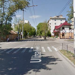 Улица Никитина в Калуге