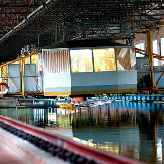 Экспериментальный глубоководный бассейн КГНЦ
