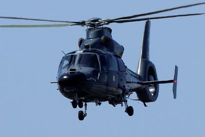 Литовский вертолет спас российского моряка