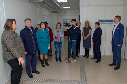 Чиновники и депутаты торжественно открыли морг в российском городе