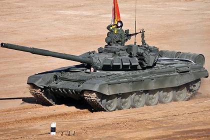 С российских Т-72 сняли французское оборудование
