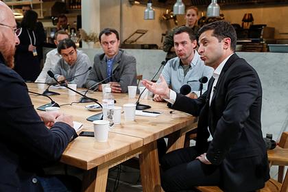 Раскрыта стоимость питания на рекордной пресс-конференции Зеленского