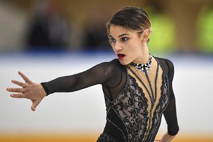 Фигуристка Самодурова выиграла короткую программу на турнире в Минске
