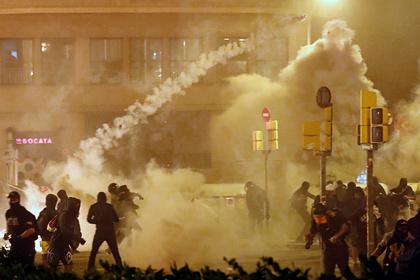 Десятки сторонников независимости Каталонии попали в больницы