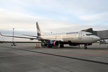 Российский лайнер прервал рейс из-за сообщения о бомбе