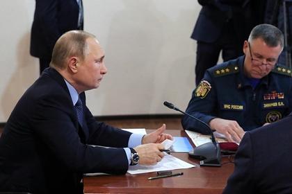 Путин дал поручения после прорыва дамбы в Красноярском крае