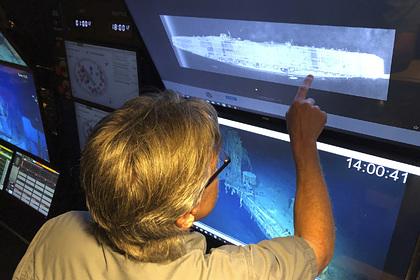 Обнаружен потопленный в ключевой битве за Тихий океан авианосец