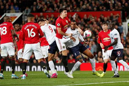 Появилось видео с лучшими моментами матча «Манчестер Юнайтед» — «Ливерпуль»