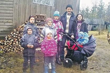 У сбежавших в глушь россиян захотели отобрать детей из-за нищеты