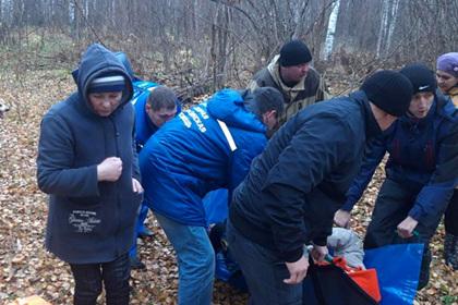 Российская пенсионерка четыре дня прожила в лесу без еды и воды