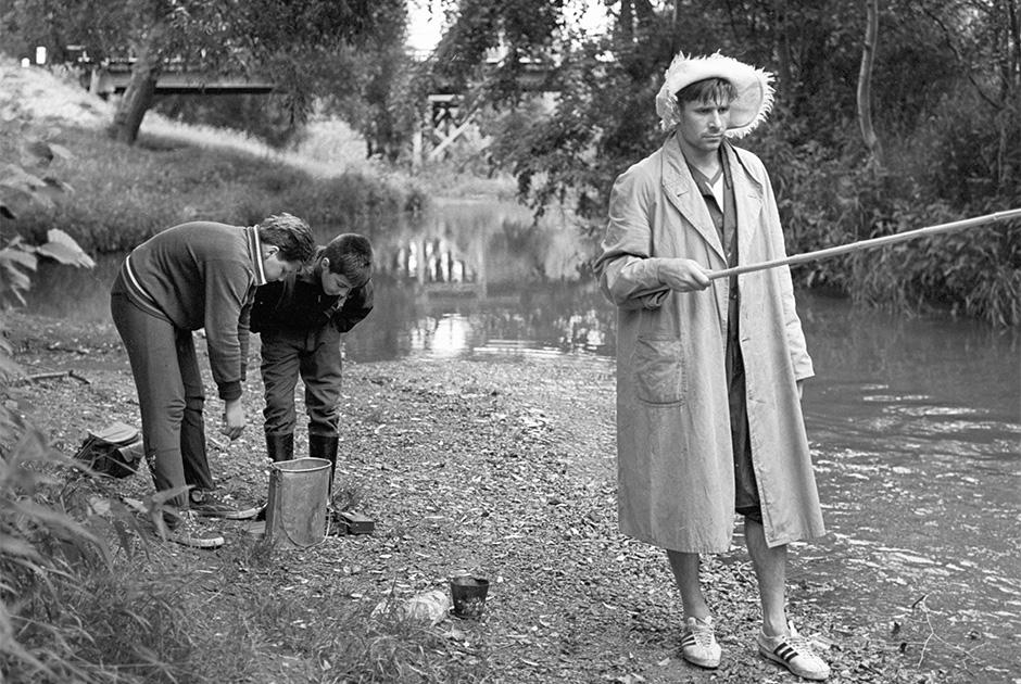 1964 год. Лев Яшин (справа) на рыбалке
