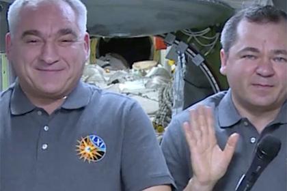 Российские космонавты обратились к молодежи