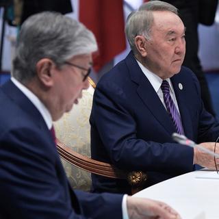 Касым-Жомарт Токаев и Нурсултан Назарбаев