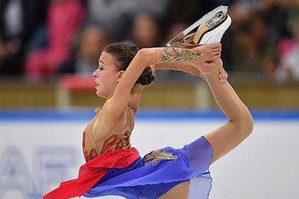 Российская фигуристка установила рекорд на дебютном этапе Гран-при