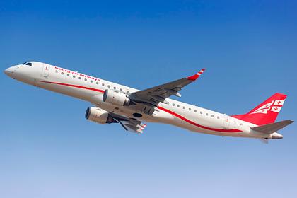 Грузинская авиакомпания нашла способ обойти запрет на полеты в Россию