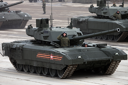 В Германии признали превосходство российской «Арматы» над немецким «Леопардом-2»
