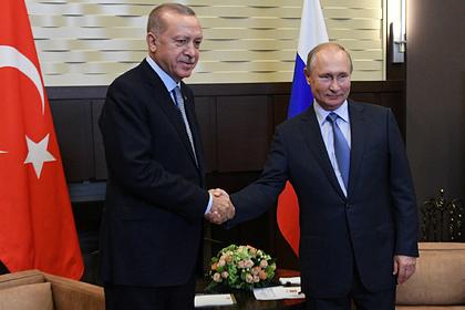 Начались сложные переговоры Путина и Эрдогана в Сочи