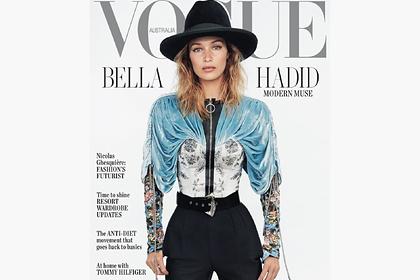 Белла Хадид снялась в откровенной фотосессии для Vogue
