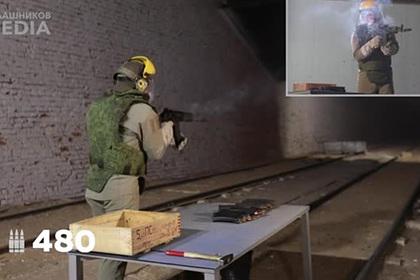 Разрыв ствола АК-12 от безостановочной стрельбы сняли на видео