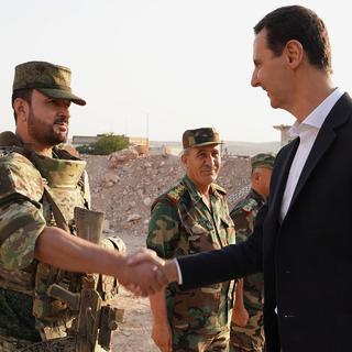 Сухель аль-Хасан и Башар Асад
