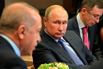 Путин сделал заявление после шестичасовых переговоров с Эрдоганом
