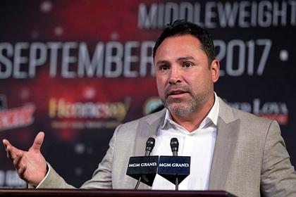 Бывшего чемпиона мира по боксу де ла Хойю обвинили в изнасиловании