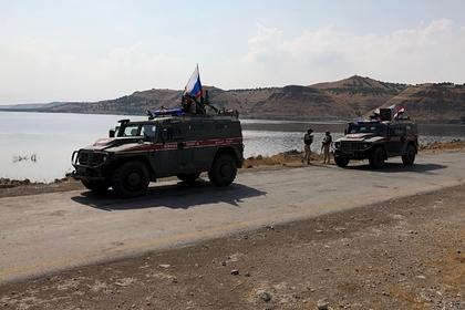 Российская военная полиция начала патрулировать позиции сирийской армии