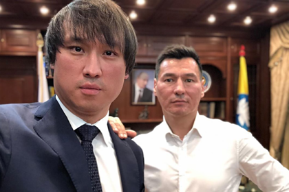 Сангаджи Тарбаев и Бату Хасиков