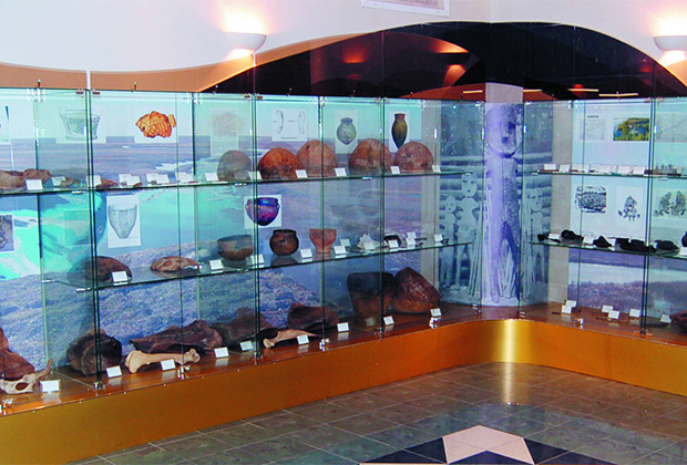 Находки археологов в музее