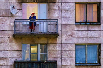 Приезжим в Москве предложили жить на балконах
