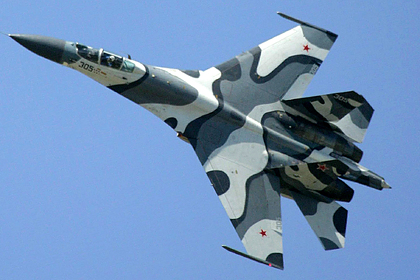 Российский истребитель понаблюдал за «бомбардировкой» Крыма