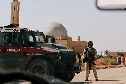Россия подтвердила прибытие своих военных на сирийско-турецкую границу