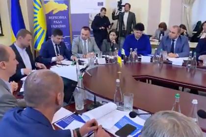 На Украине предложили назначить вице-премьера по Крыму и Донбассу