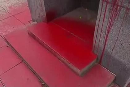 Памятник Красной Армии осквернили в Чехии