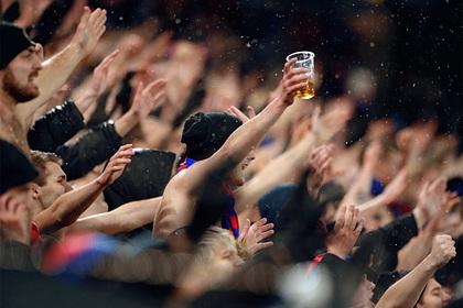 Продажу пиво российских стадионах одобрили
