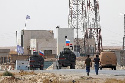 В Сирии появится база российской военной полиции