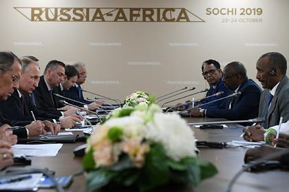 Африка захотела от России оружие, атом, деньги, кредиты и знания