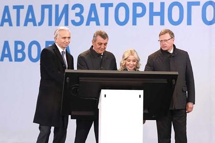 «Газпром нефть» начала строительство первого в России производства катализаторов