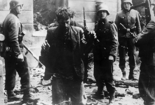 Апрель 1943 года. Восстание в Варшавском гетто