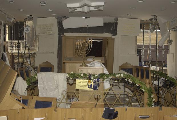 Турция, Стамбул. Взрыв в синагоге 16 ноября 2003 года. 20 человек погибли, 300 были ранены
