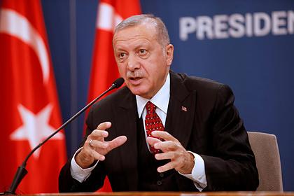 Эрдоган заявил о намерении продолжить обстрелы террористов