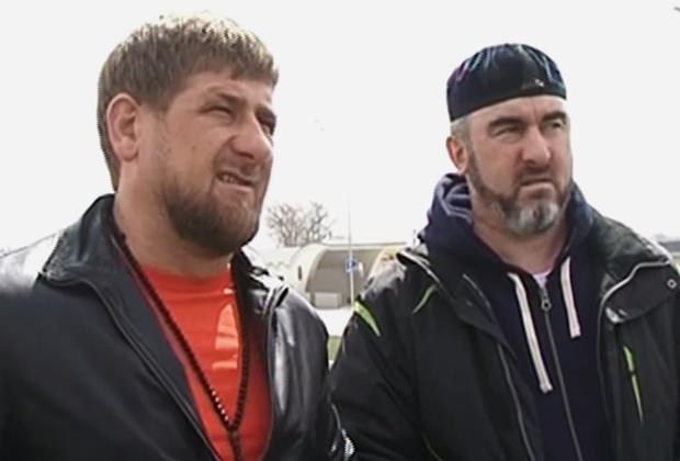 Рамзан Кадыров и Ибрагим Темирбаев