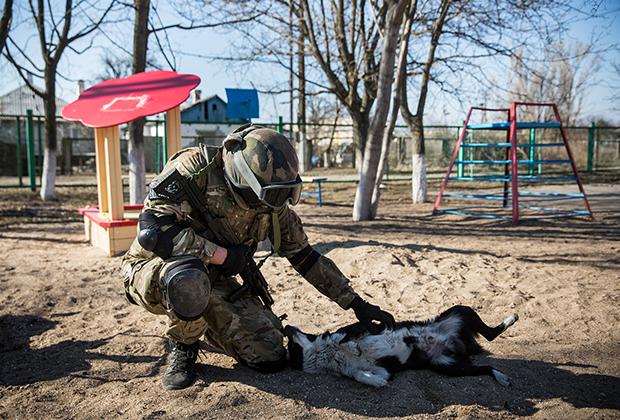 Солдат батальона «Азов»