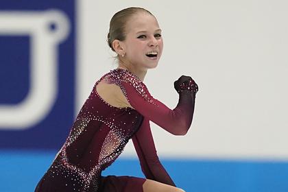 15-летняя фигуристка-рекордсменка Трусова оценила свое выступление