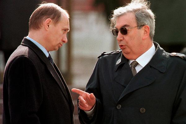 Евгений Примаков и Владимир Путин