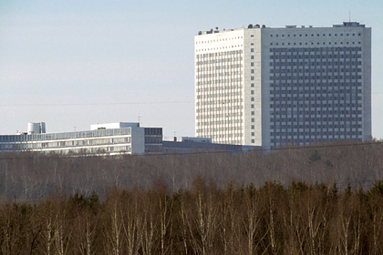 Здание штаб-квартиры Федеральной службы Внешней разведки России