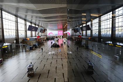 В аэропорту Красноярска появится место для поцелуев