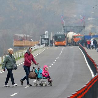 Пропускной пункт в станице Луганской