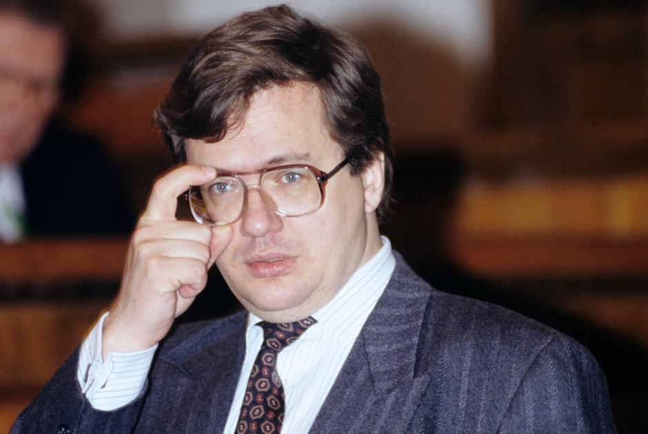 Министр финансов России Борис Федоров